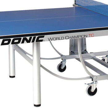 Профессиональный теннисный стол DONIC WORLD CHAMPION TC синий, фото 3