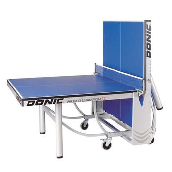 Профессиональный теннисный стол DONIC WORLD CHAMPION TC синий, фото 4
